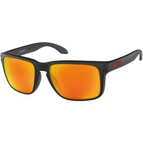 Oakley Holbrook XL Sonnenbrille matte black/prizm ruby
